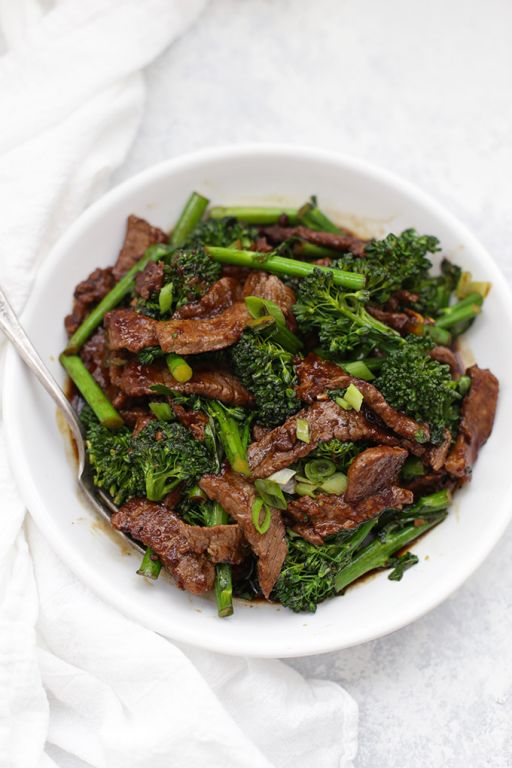 Healthy Beef and Broccoli Recipes